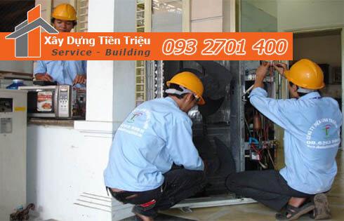 Công ty nhận sửa chữa điện nước tại nhà Quận Tân Phú.
