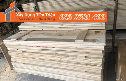 cơ sở bán gỗ thông tại huyện Hóc Môn