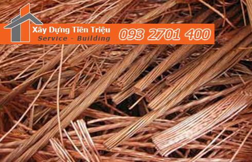 Công ty Phế liệu Tiền Triệu chuyên thu mua các loại phế liệu đồng sau: