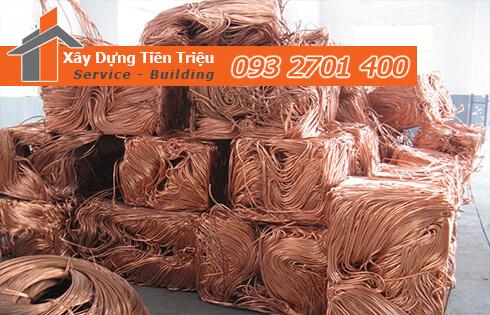 Những mặt hàng phế liệu đồng ở Huyện Bình Chánh mà công ty thu mua.