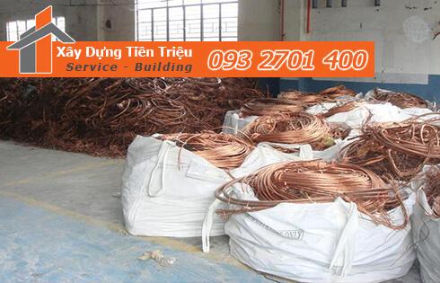 Quy trình thu mua phế liệu kim loại đồng Huyện Hóc Môn ở công ty Tiền Triệu.