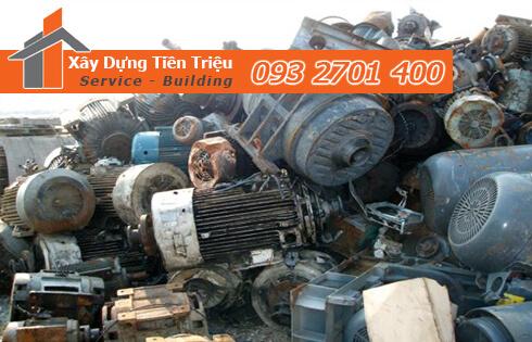 Thời gian và cách thức thu mua máy móc cũ phế liệu Quận 2 của công ty Tiền Triệu.