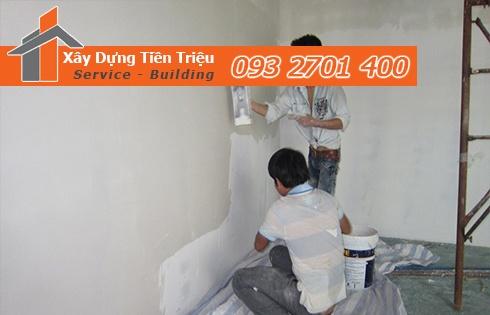 Các cách để xác định 1 lít sơn được bao nhiêu m2 nhà ở TPHCM.