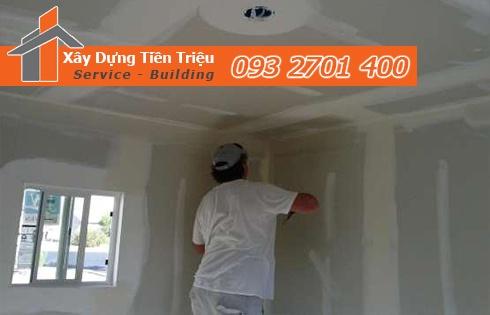 Công ty dịch vụ sơn nhà trọn gói Quận Tân Phú giá rẻ – Tiền Triệu