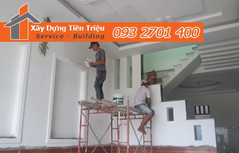 Bảng báo giá thi công sơn nhà trọn gói bao nhiêu tiền - Tiền Triệu