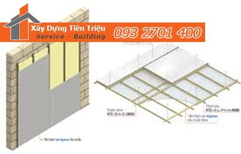 Ứng dụng của tấm thạch cao chống nóng trong nhà ở, nhà xưởng, khách sạn, trường học, cơ quan, phòng karaoke