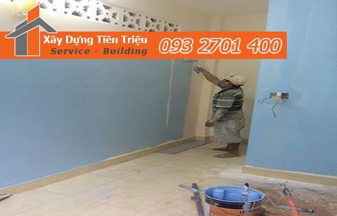 Công ty dịch vụ sơn nhà trọn gói Quận 6 giá rẻ - Tiền Triệu - Quận 6