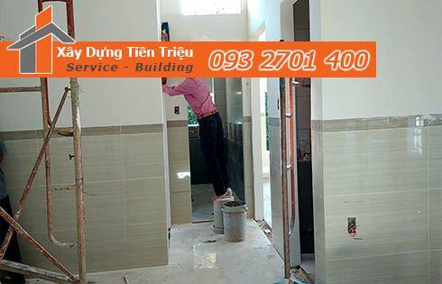 Chuẩn bị trước khi thi công sơn nhà trọn gói Quận Tân Phú.