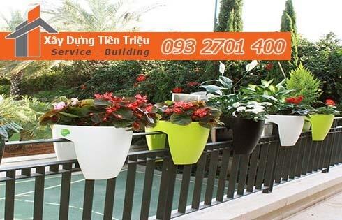 Bí quyết chọn mua chậu nhựa trồng hoa ban công giá rẻ cần nên biết