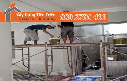 Công ty nhà thầu sơn nhà trọn gói Bến Tre - Sơn Nhà Bến Tre