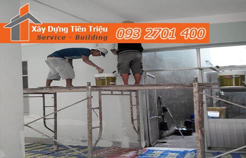 Xaydungtientrieu.com - đơn vị cung cấp dịch vụ sơn nhà tại Bình Định.