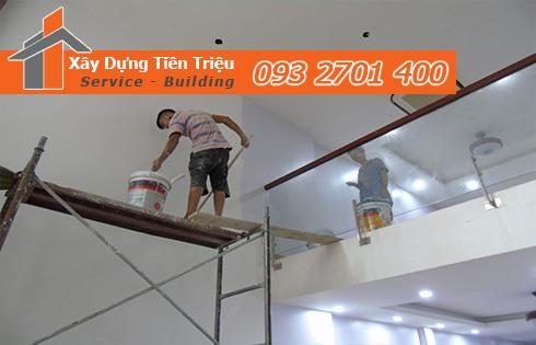 Công ty nhà thầu sơn nhà trọn gói Tiền Giang - Sơn Nhà Tiền Giang
