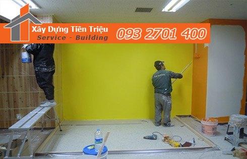 3. Dịch vụ sơn nhà trọn gói Vũng Tàu tại Công ty TNHH TM - DV xây dựng Tiền Triệu.