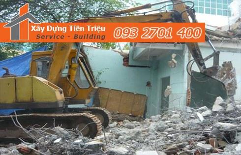 Tiền Triệu - Chuyên phá dỡ đập phá tường gạch nhà uy tín chất lượng.