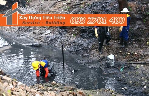 Biện pháp thi công nạo vét bùn đất kênh rạch Công Ty Tiền Triệu