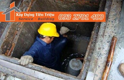 Dịch vụ nạo vét hố ga nạo vét cống rãnh quận 7 giá rẻ - Tiền Triệu