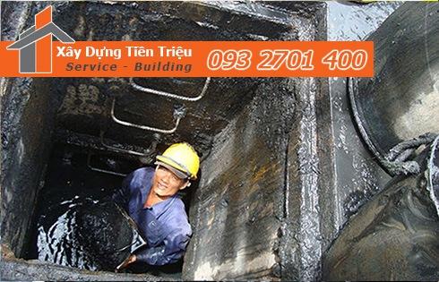 Dịch vụ nạo vét hố ga khu công nghiệp giá rẻ - Tiền Triệu