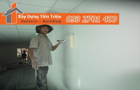 Dịch vụ nhận sơn nhà trọn gói 40m2 hết bao nhiêu tiền giá rẻ nhất