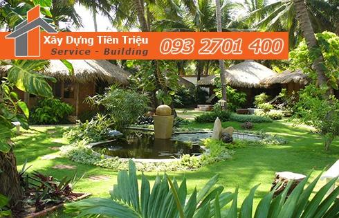 Tại sao nên chọn công ty TNHH TM - DV XD Tiền Triệu để thi công cây xanh sân vườn ?
