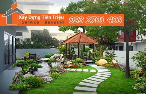 Tiền Triệu đơn vị thi công sân vườn chuyên nghiệp giá rẻ tại TPHCM