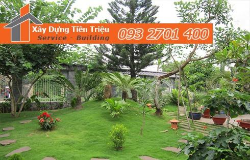 Lựa chọn đơn vị thiết kế, thi công sân vườn uy tín và chất lượng.