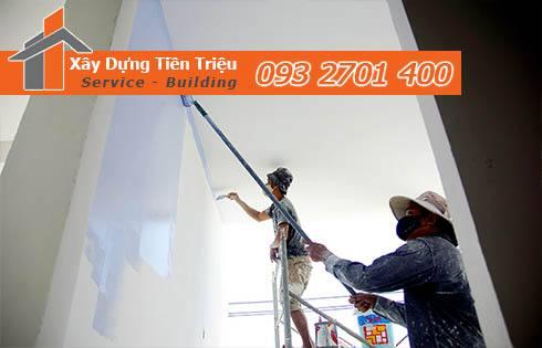 Quy trình thi công sơn sửa nhà tại Quận 3 giá rẻ – chuyên nghiệp.