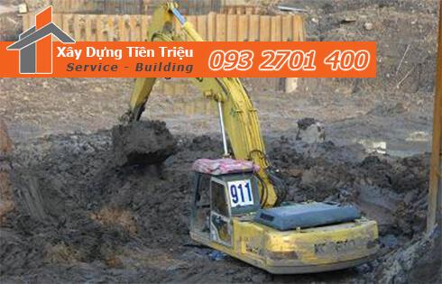 Dịch vụ cho thuê xe cuốc đập phá đào móng TPHCM 0938265056