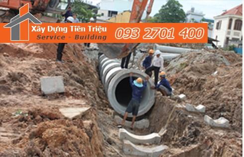 Quy trình thủ tục đấu nối đường ống cống thoát nước thải ?