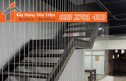 Địa chỉ thi công, lắp đặt lưới an toàn cầu thang TPHCM.
