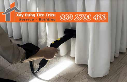 Giặt màn cửa định kỳ giá rẻ Tiền Triệu giúp màn đẹp sạch.
