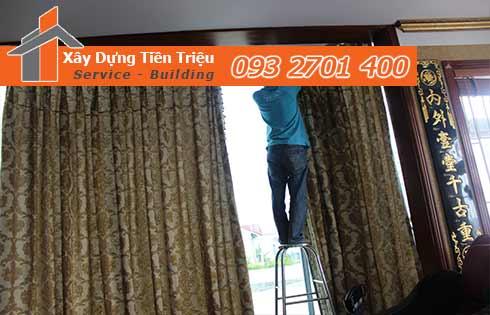 Dịch Vụ Giặt Rèm Cửa Tại Nhà Gía Rẻ - Tiền Triệu 0938265056