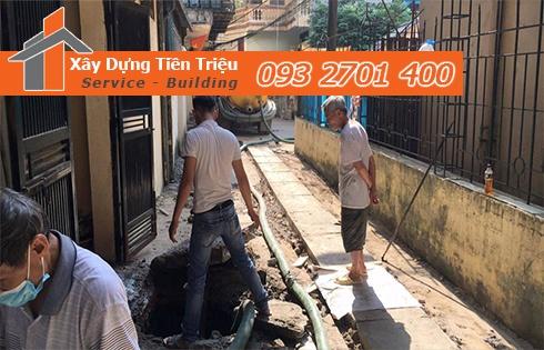 Dịch vụ hút bùn hố ga bao nhiêu 1 khối - Tiền Triệu 0938265056