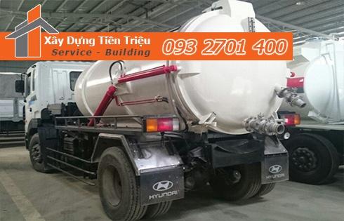 Đơn vị cung cấp dịch vụ hút chất thải công nghiệp chuyên nghiệp.