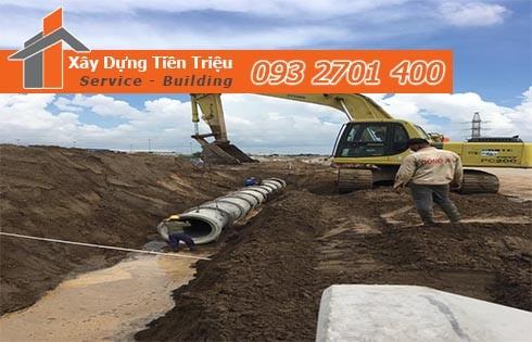 Thi công lắp đặt đường ống cống thoát nước Tiền Triệu 0938265056