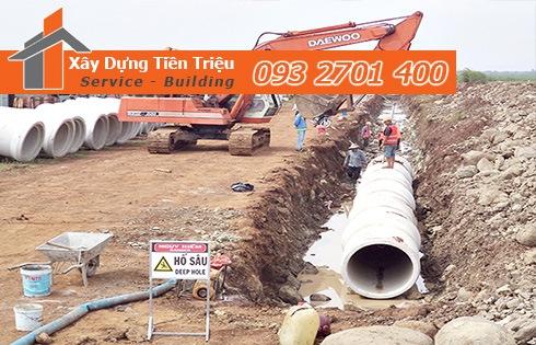 Công ty Tiền Triệu chuyên nhận lắp đặt đường cống thoát nước