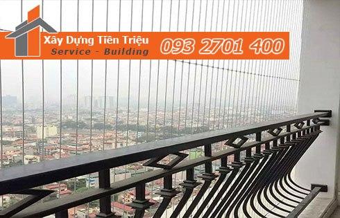Đơn vị cung cấp lưới an toàn ban công chung cư tại Hồ Chí Minh uy tín.