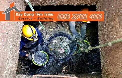 Dịch vụ nạo vét cống thoát nước của công ty Tiền Triệu