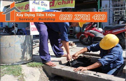 Dịch vụ nạo vét cống thoát nước ngầm - Tiền Triệu - 0938265056