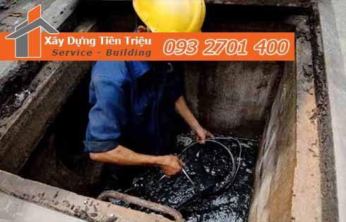 Dịch vụ nạo vét cống rãnh hố ga Huyện Bình Chánh 0938265056