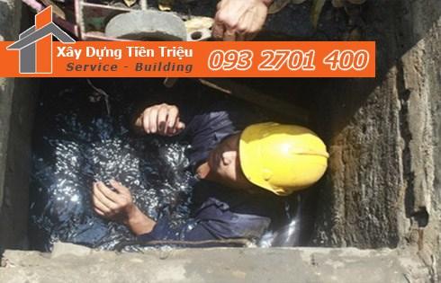 Chuyên nạo vét hố ga nạo vét cống rãnh Quận 4 giá rẻ -Tiền Triệu