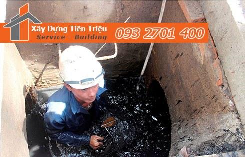 Đơn giá dịch vụ nạo vét hố ga cống rãnh Quận Gò Vấp của công ty Tiền Triệu.