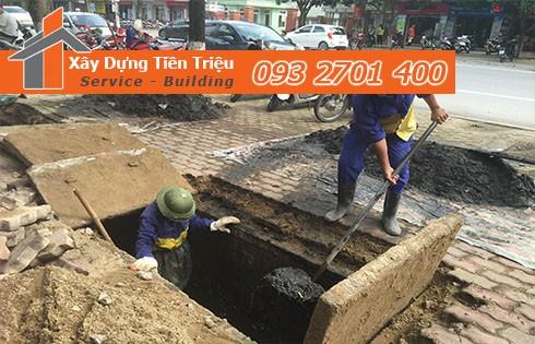 dịch vụ nạo vét cống rãnh Quận Tân Bình của công ty Tiền Triệu.