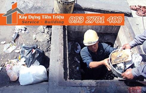 Chuyên nạo vét hố ga nạo vét cống rãnh Quận Tân Phú - Tiền Triệu