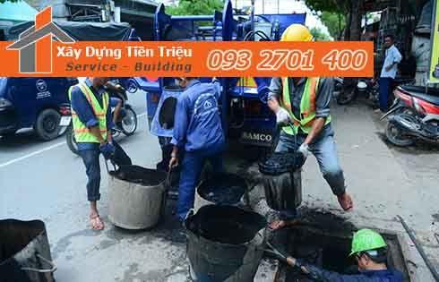 Dịch vụ nạo vét hố ga nạo vét cống rãnh Tiền Giang - Tiền Triệu