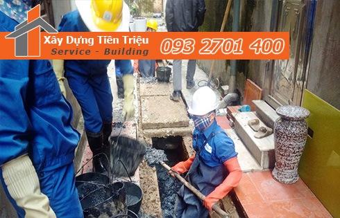 Dịch vụ nạo vét cống rãnh hố ga Quận 10 Tiền Triệu 0938265056