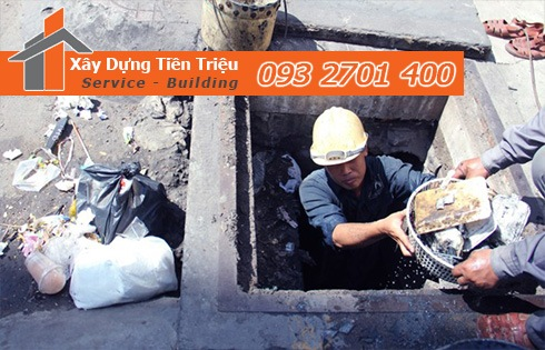 Chuyên nạo vét hố ga nạo vét cống rãnh Quận 3 giá rẻ -Tiền Triệu
