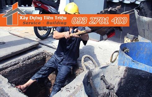 Dịch vụ nạo vét cống rãnh hố ga Quận 9 Tiền Triệu 0938265056