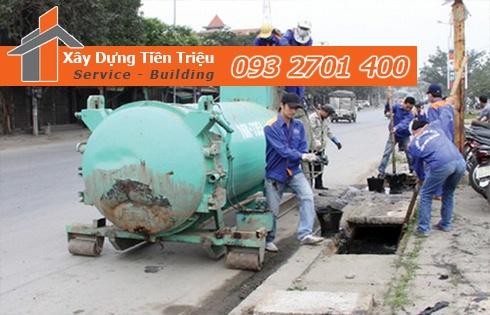 Dịch vụ nạo vét cống rãnh Quận Bình Tân của công ty Tiền Triệu
