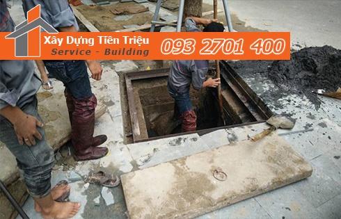 Sử dụng dịch vụ nạo vét cống rãnh nạo vét hố ga Quận Phú Nhuận của công ty Tiền Triệu.