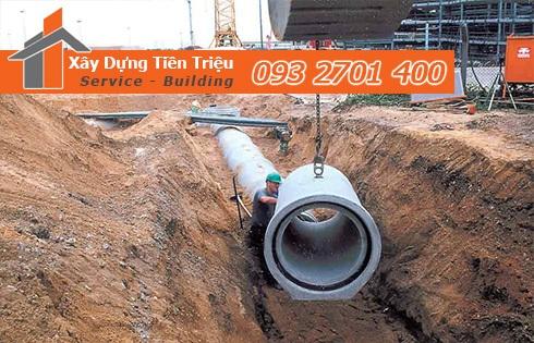 Hướng dẫn thi công đường cống thoát nước - Tiền Triệu 0938265056